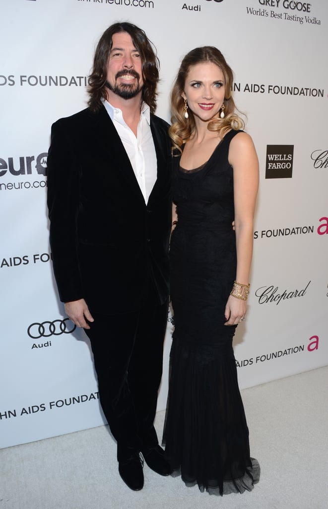 Dave and Jordyn Grohl