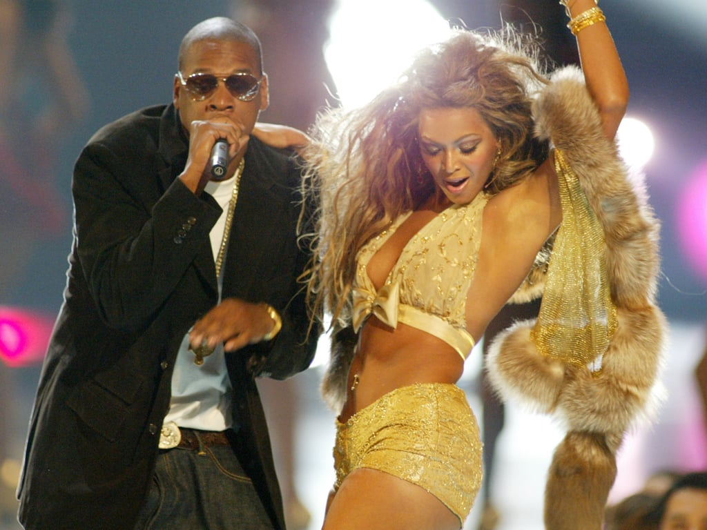 The August 2003 VMAs brought Jay-Z and Beyoncé on stage together.