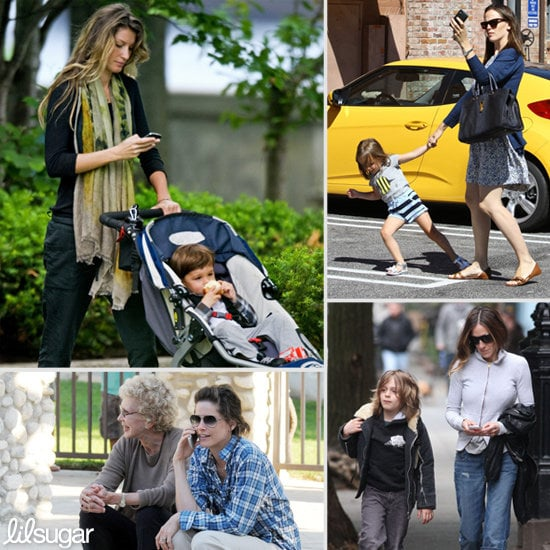 Parents on Phones: Moms Prove They Can Multitask Like No Others