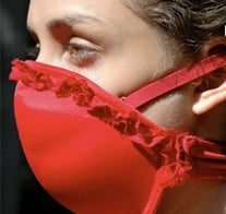 Emergency Bra Doubles as Gas Mask