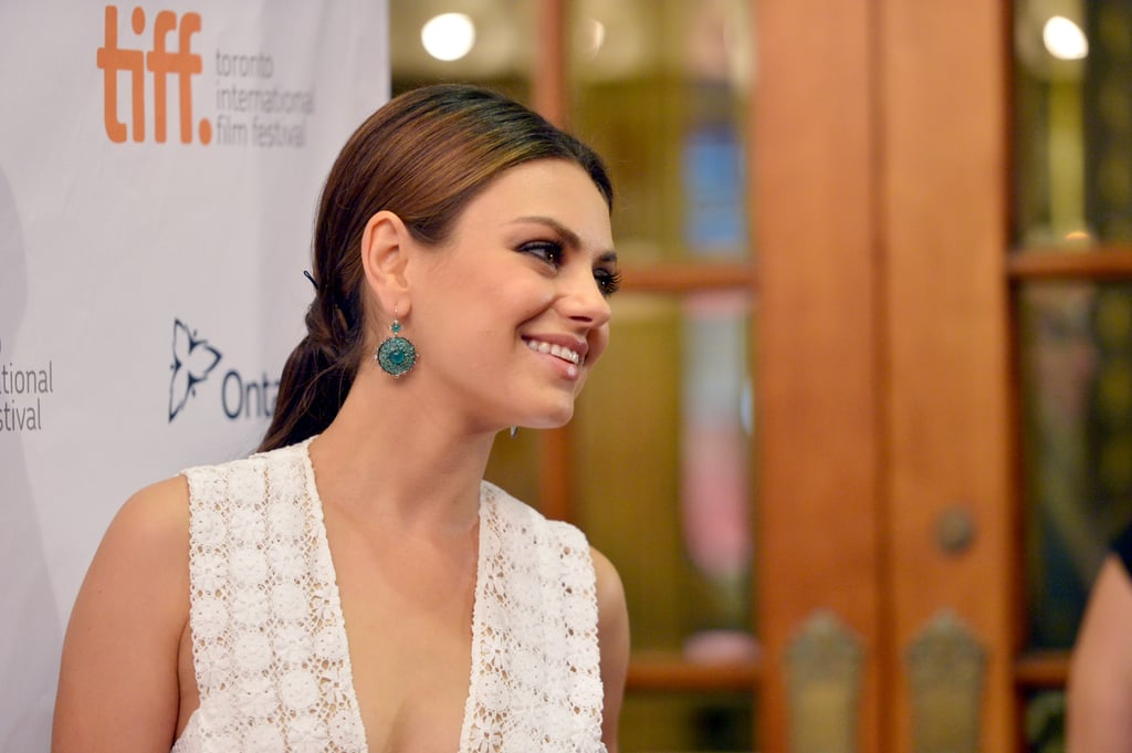 Mila Kunis smiled for the cameras at the Third Person premiere.