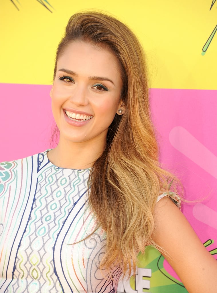 Jessica Alba has most recently been sporting a blonde hue, and we love the soft golden colour on her.
