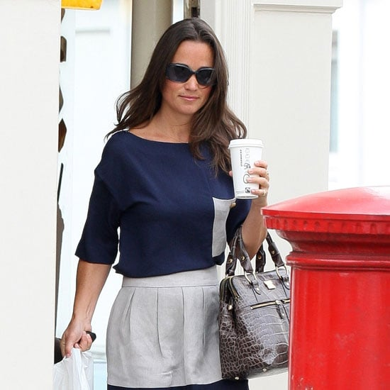 Pippa Middleton Pictures in a Summer Dress