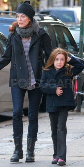 Family Dressing: Julianne Moore and Liv Freundlich