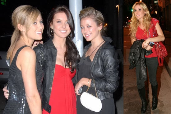 LC and Kristin Just Happen to Hit the Same Club
