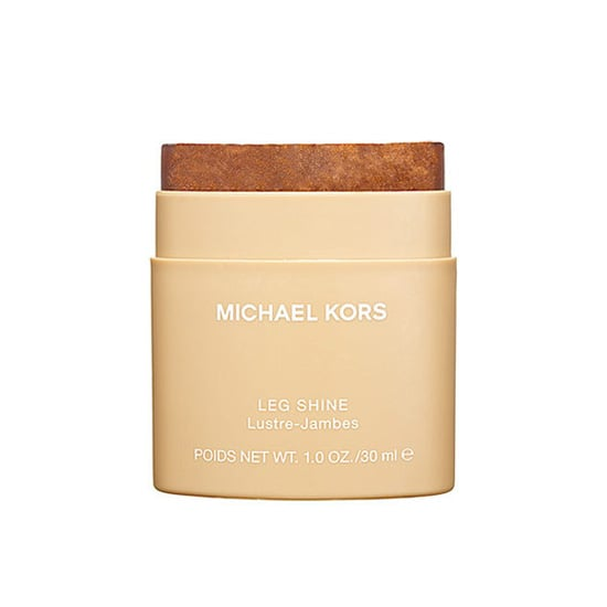 For those of us who don't self-tan, Michael Kors Leg Shine ($10) adds color and shimmer to pale legs without rubbing off on Summer whites.  — MLG