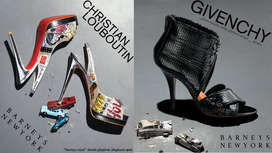 Freaky or Fabulous? Barneys Shoes Cause Collisions