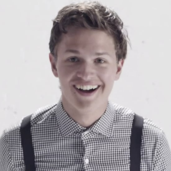 Ansel Elgort Dance Video For Teen Vogue