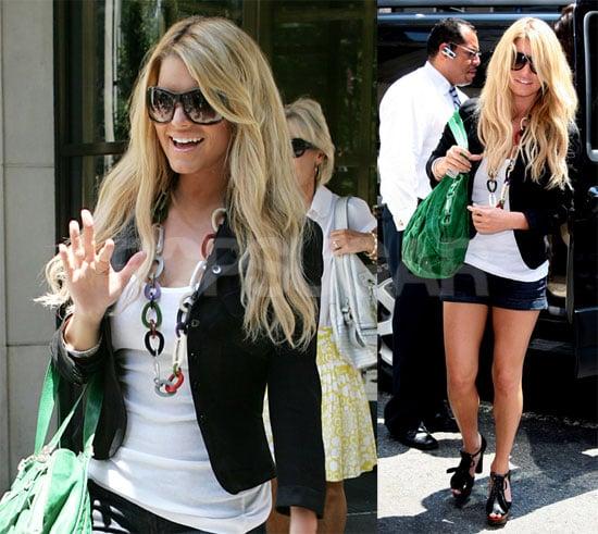 Jessica Simpson Looks Hot in New York City