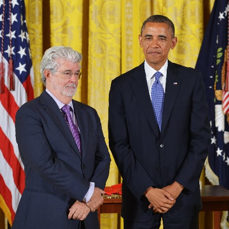 George Lucas Receives Presidential Medal