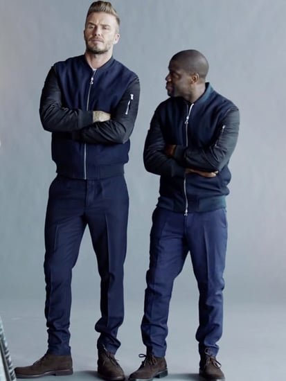Kevin Hart Hilariously Stalks David Beckham in New H&M Campaign