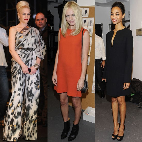Pictures of Kate Bosworth, Gwen Stefani and Zoe Saldana at New York Fashion Week