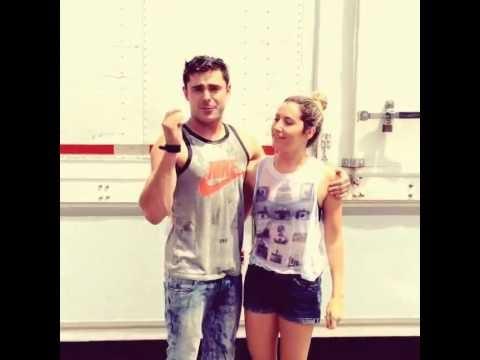 Zac Efron and Ashley Tisdale