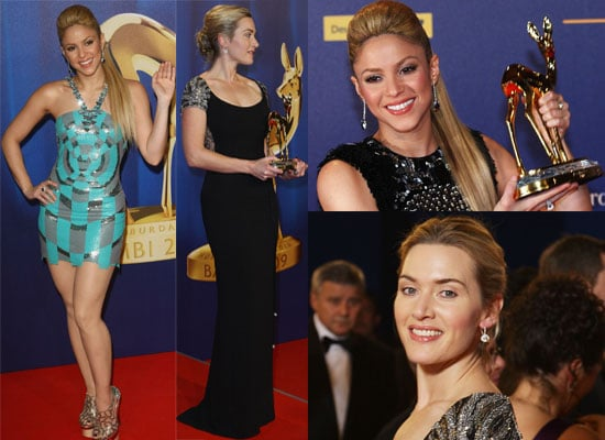 Photos from the 2009 Bambi Awards, Where Kate Winslet Won Best Actress and Shakira Won Best International Pop Star