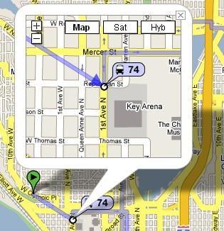 Geek Tip: Plan Trips With Google Transit
