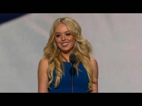 Tiffany Trump Struggles to Make Father Seem Relatable in RNC Speech