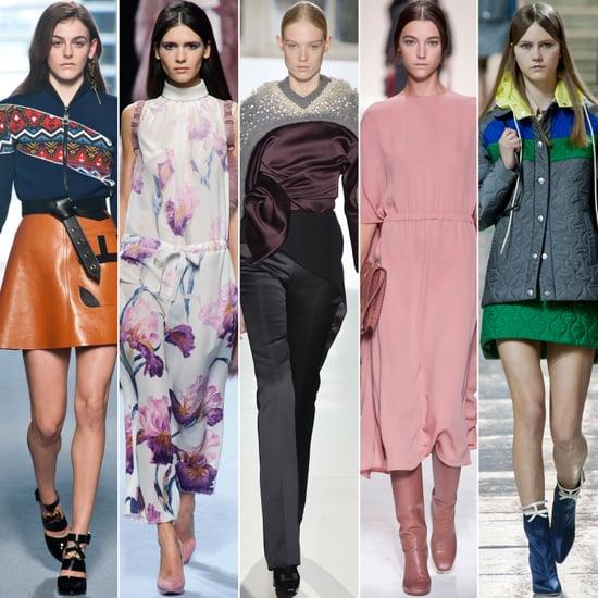 2014 Autumn Winter Paris Fashion Week Trends