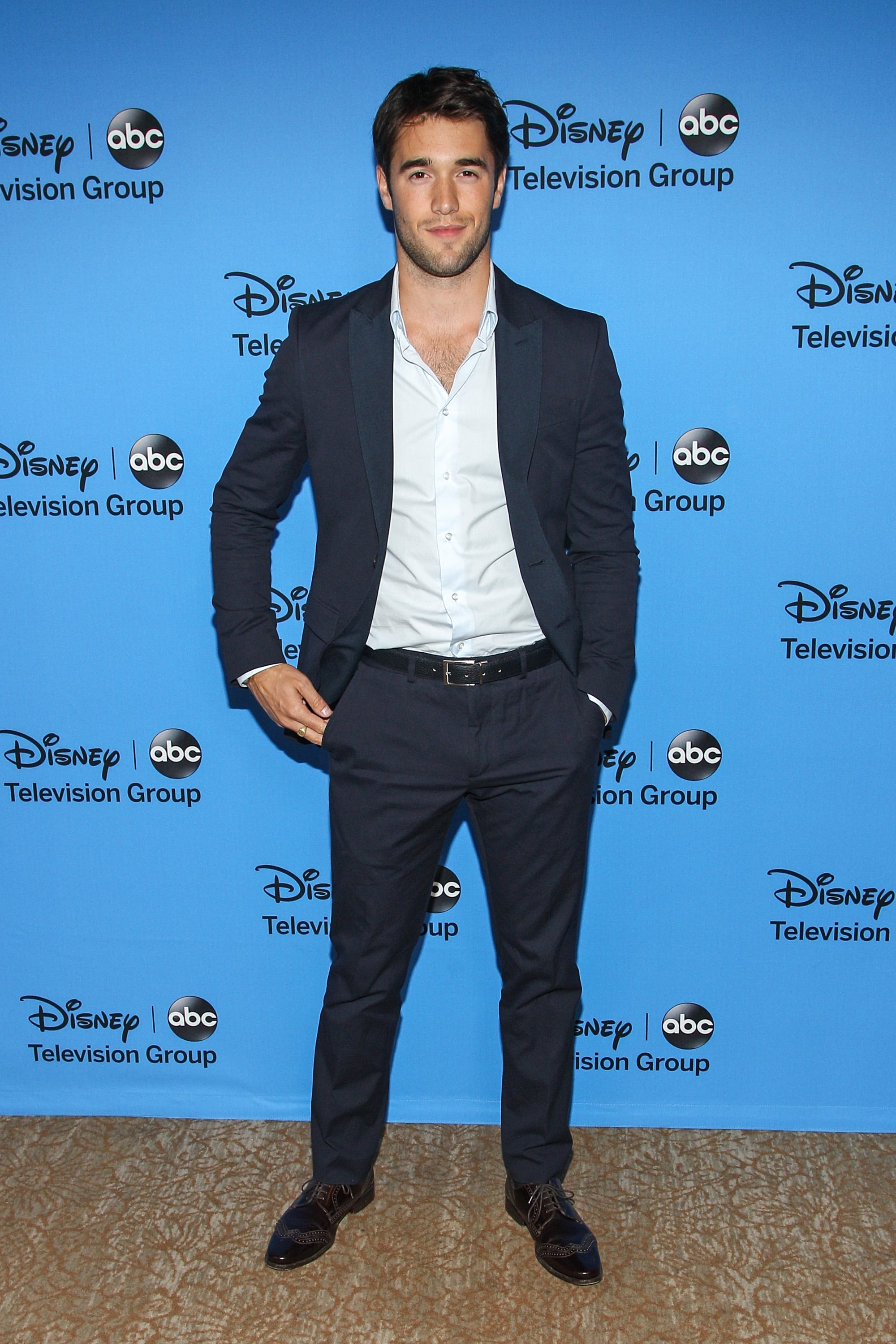 Josh Bowman came out for the Disney/ABC Television Group's Summer TCA Press Tour party.