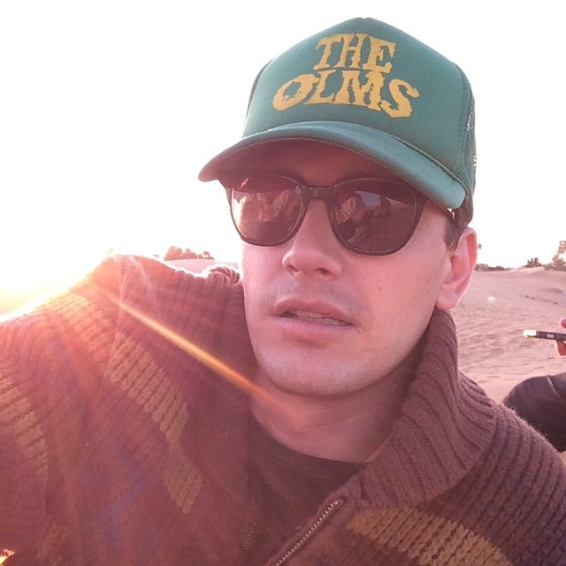 James Franco shared this swoon-worthy selfie while on the beach. Source: Instagram user jamesfrancotv