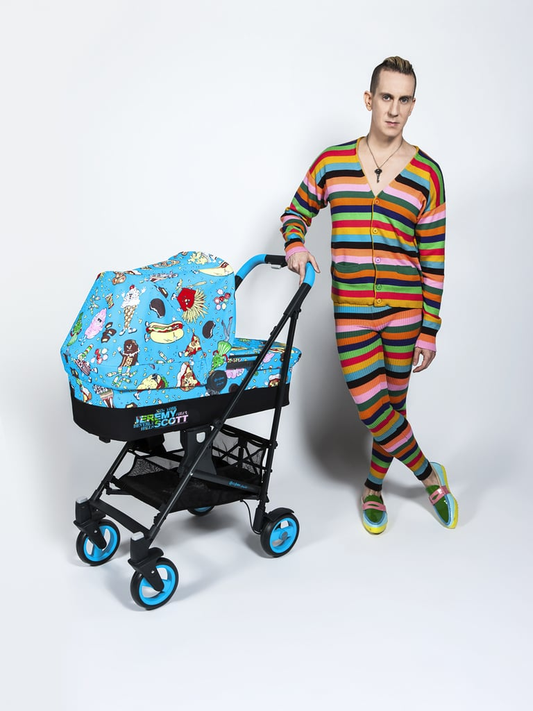Jeremy Scott and a Callisto stroller.