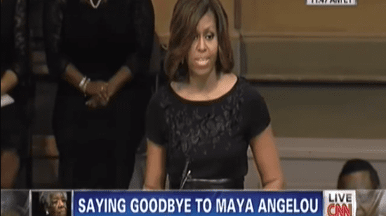 Here's Michelle Obama's Speech At Maya Angelou's Memorial Service