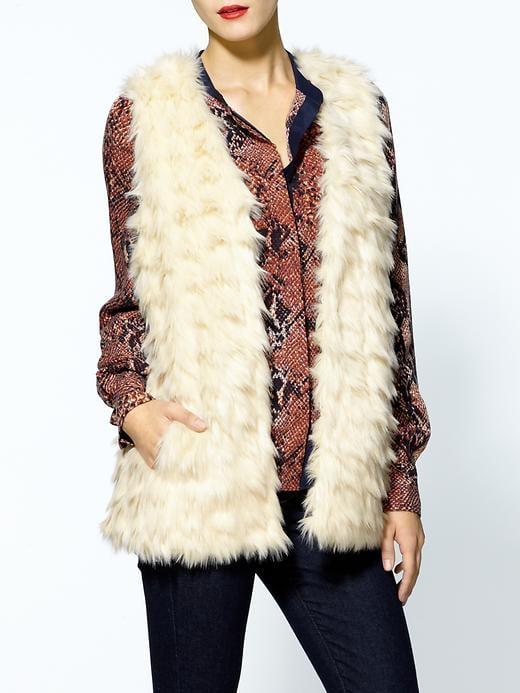 This BB Dakota Faux Fur Vest ($99) will be just the thing to warm up your leather bottoms and semisheer blouses for nights out.