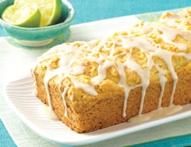 Vegan Vanilla Pound Cake Recipe With Lime Glaze