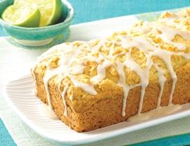 Vegan Vanilla Pound Cake Recipe With Lime Glaze