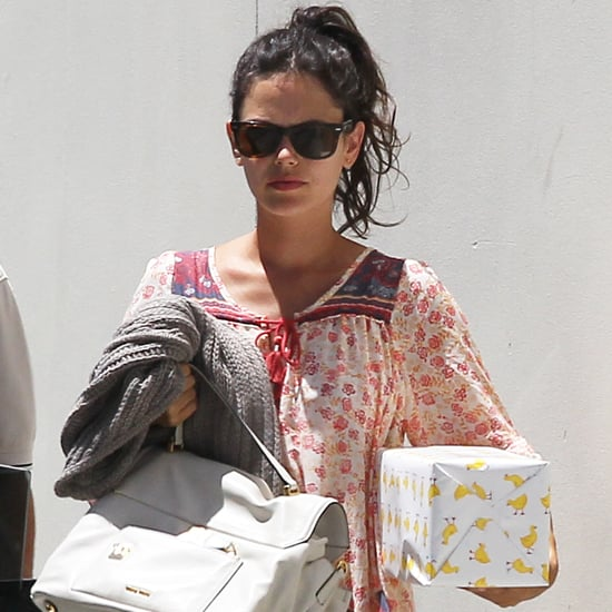 Pregnant Rachel Bilson Goes to a Birthday Party   Pictures