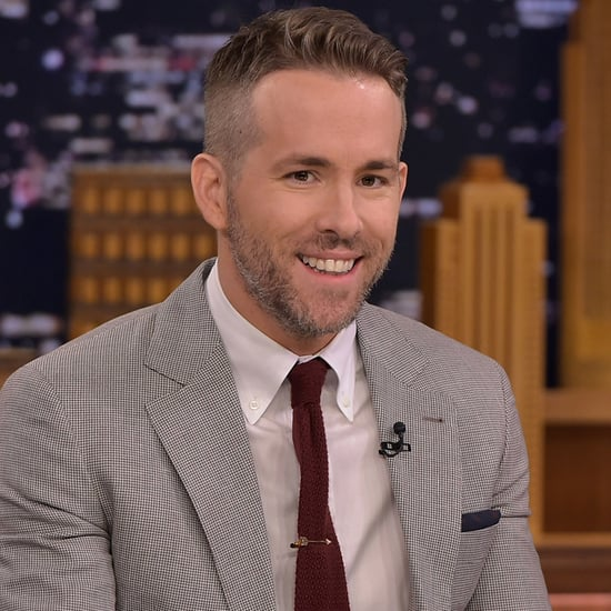 Ryan Reynolds Sexiest Dad Alive Announcement on Tonight Show