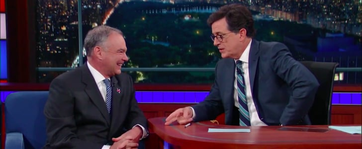 Tim Kaine Tells Stephen Colbert 1 Outrageous Thing People Might Not Know About Trump