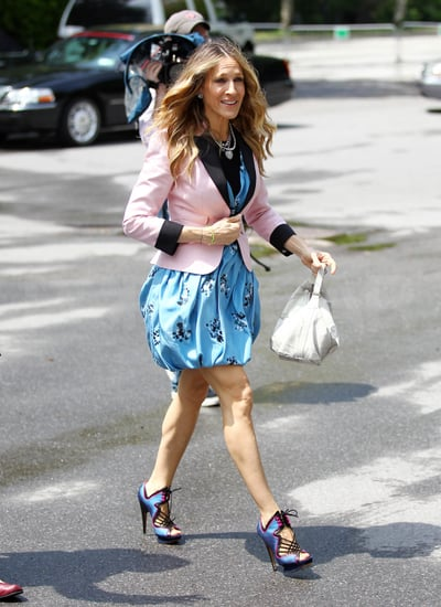 Pictures of Sarah Jessica Parker, Kim Cattrall And Kristin Davis Promoting Sex And The City 2 in NYC