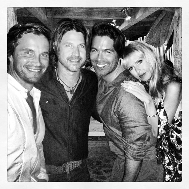 Rachel Zoe and Rodger Berman celebrated the New Year with Brian Atwood and his husband, Jake Deutsch. Source: Instagram user brian_atwood