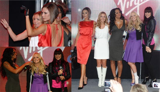 It's a Spice Girls Homecoming With Crutches