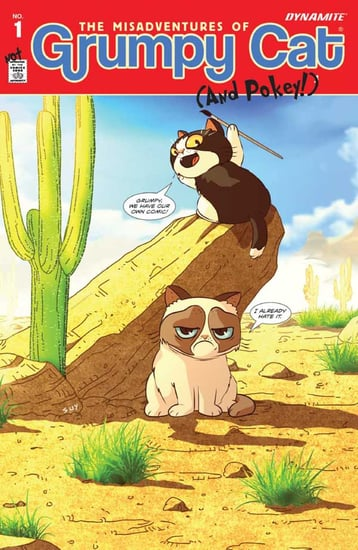 We Talk to Ben Fisher and Michelle Nguyen About the Grumpy Cat Comic