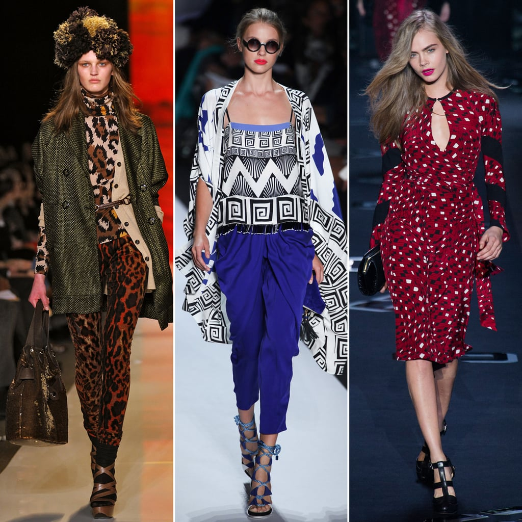Take a Look Back at DVF's Style History