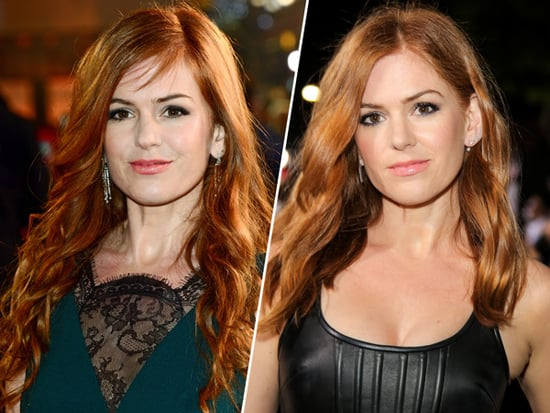 Isla Fisher Chopped 10 Inches Off Her Hair  '40 Minutes Before She Left' for the Red Carpet