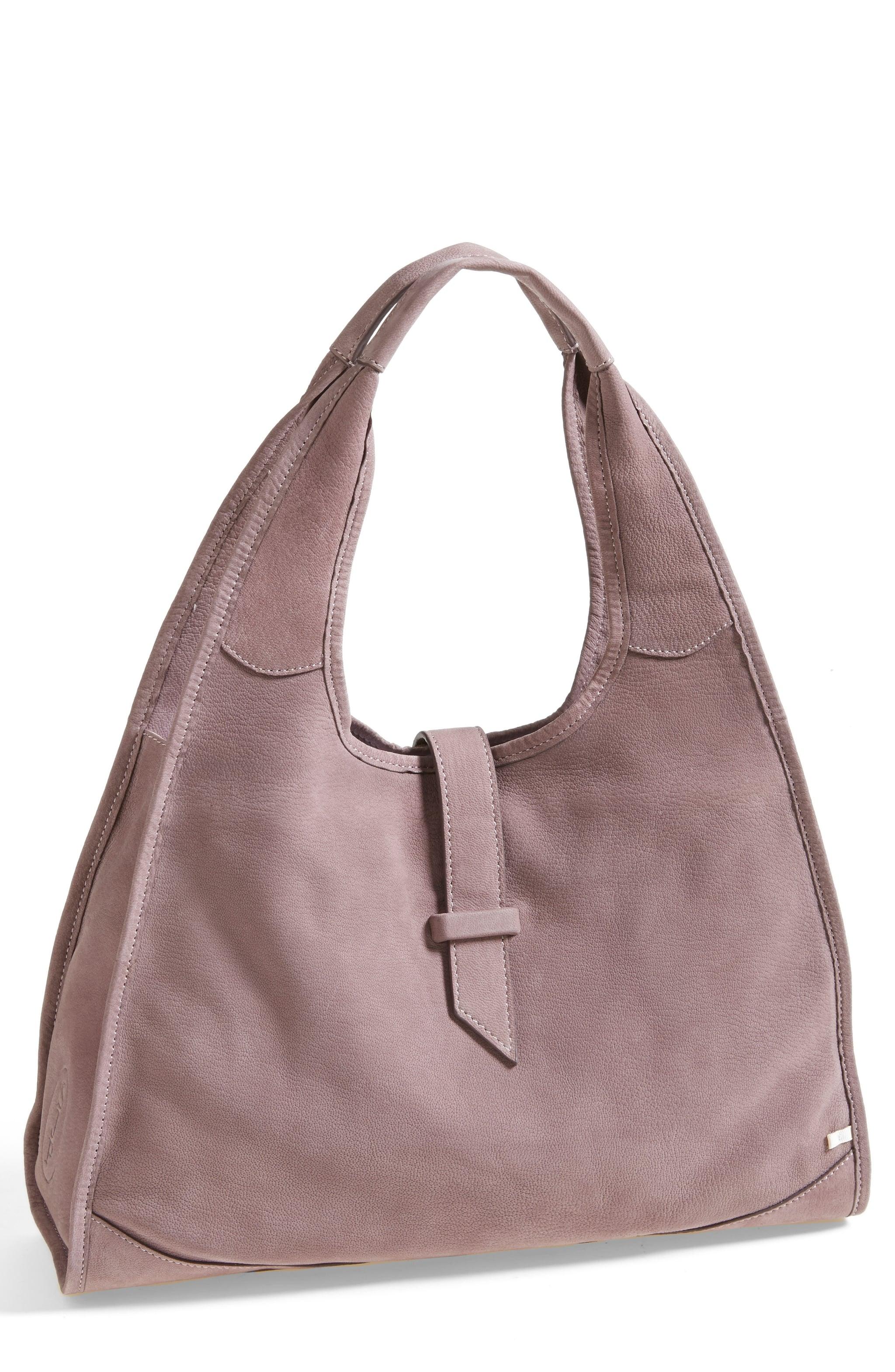 New York Hobo in Lavender, $375