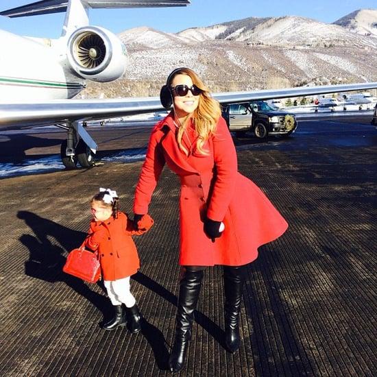 Celebrity Moms' Instagram Pictures Week of Dec. 29, 2013