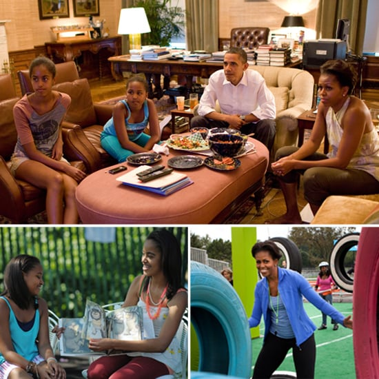 Michelle Obama Talks About Parenting and Exercise
