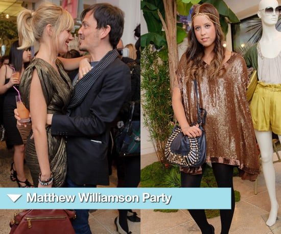 Photos from Matthew Williamson's Shop Opening with Sienna Miller