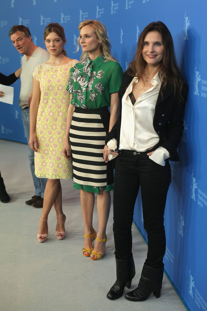 Diane Kruger, Virginie Ledoyen and Léa Seydoux promoted Farewell, My Queen.