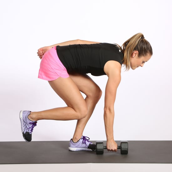 Single-Leg Touch Exercise For Glutes