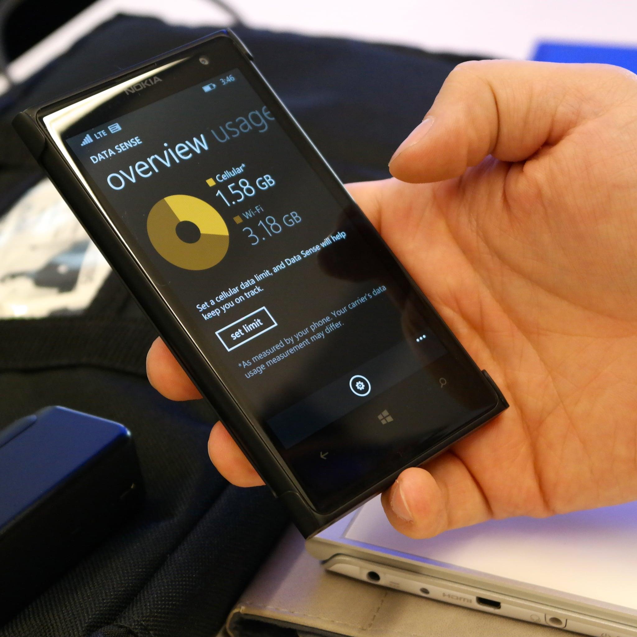 Windows Phone 8.1 — DataSense