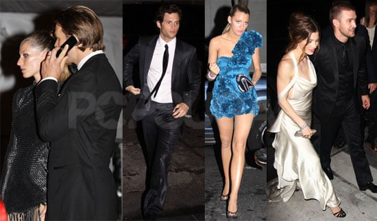 Pictures of January Jones, Bar Refaeli, Justin Timberlake, Sienna Miller And More Celebrating After The 2010 Costume Institute