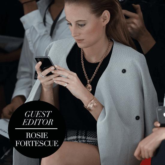 Rosie Fortescue's London Fashion Week Picks