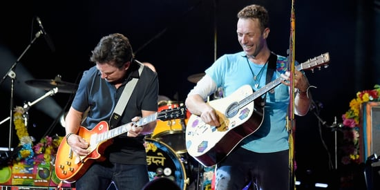 Michael J. Fox Goes 'Back To The Future' To Upstage Chris Martin