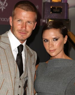 Sugar Bits: David & Victoria Beckham Look For London House