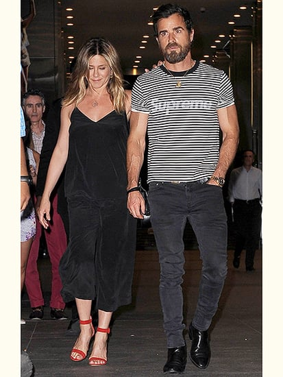 Jennifer Aniston and Justin Theroux Continue String of Romantic Dates with Dinner in N.Y.C.