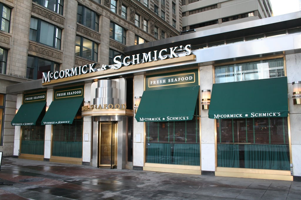 Early Filers Happy Hour at McCormick and Schmick's
